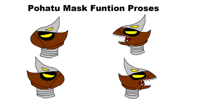 Pohatu Mask Funtion Proses (G3) by ToaHeroStudio