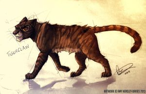 TigerClaw / Tigerstar - Warriors by AmyVsTheWorld
