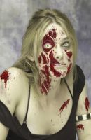 Keira Knightley Zombie by thesadpencil