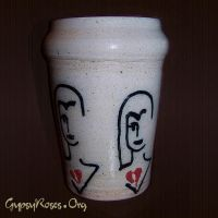 Happy to be Heartbroken Vase by che4u
