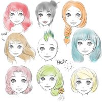 Hairstyles by monsty