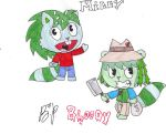 Bloody and Milly .:GA:. by HappyTreeKat14