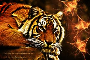 Tiger-fractalius by Hemamm