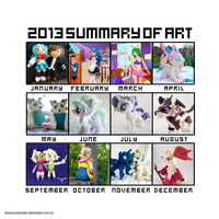 2013 Summary of Art by dollphinwing