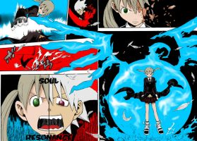 Maka and Soul by xtremeclown