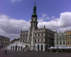 Townshall of Zamosc by Dhacxaahsvost