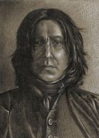 Severus Snape by AlmightyCrow