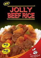 Jolly Beef Rice by jollibee