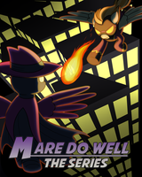 Commission: Mare Do Well Comic Book Cover by drawponies