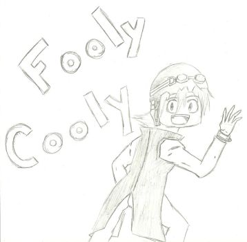 Haruko - Fooly Cooly by captainspadevatore