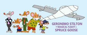 Geronimo Stilton and the Spruce Goose Poster by HunterxColleen