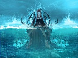 queen of water.. by IMertTmyksl