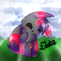 CHASE THE LITTLE RED  BLEEP by pinkfrilly