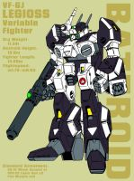 VF-6 Legioss - battroid by Grebo-Guru