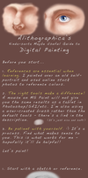 Digital Painting Tutorial - Eye by Alithographica