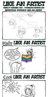 Like An Artist... by Serenity202