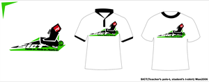 SICT t-shirt and polo by hisheartbleeds