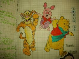 pooh family by PiccolaGhI