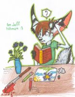 10 Free Sketches-Jeff by AitaHunter