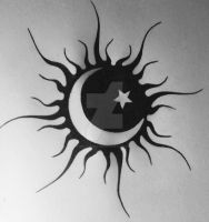 Sun Tattoo by MintyShroom