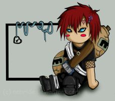 Naruto - Gaara for Chisa by Nebride