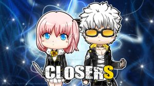 Commission - Chibi Closers by Kirara-CecilVenes