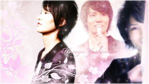 Just edit Hosoya Yoshimasa wallpaper by Kauthar-Sharbini
