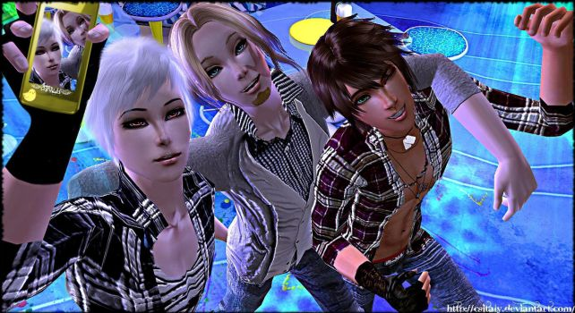 APH Sims - Bad Friends Trio by CSItaly