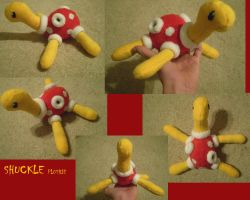 Shuckle Plushie by Silverbirch