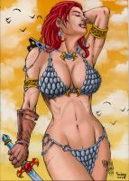Red Sonja. by Troianocomics