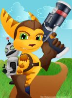 Ratchet and Clank by FallenMystic