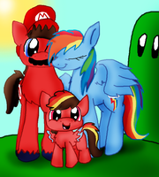 Mariodash family photo by Yoshi123pegasister