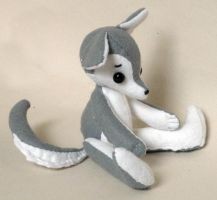 Wolfie plushie (pattern/instructions for sale) 2 by Naoru