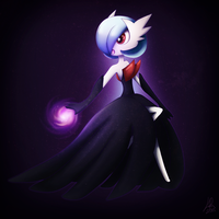 Shiny Mega Gardevoir by Norwlin