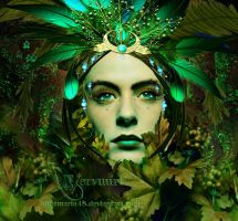 The Green Woman by annemaria48