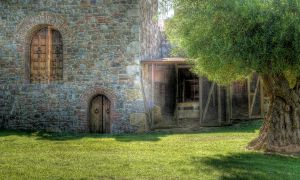 Castle Exterior by stock-pics-textures