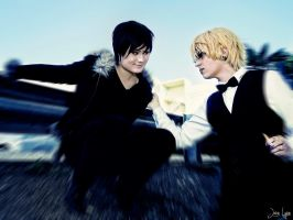 Durarara- Finally gotta hold of you by Yonejiro