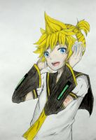 Len Kagamine. by Tonemhp