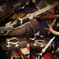AC III - finished hidden blade. by Creed-Cosplay