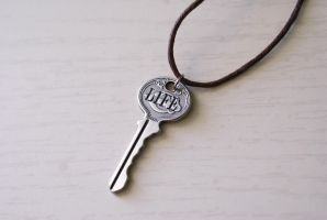 Key to Life - Necklace by foowahu-etsy
