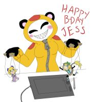 Birthday gift for Jess by scrap-paper22