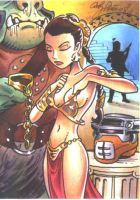 Slave Leia by andypriceart