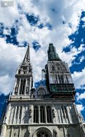 Cathedral Zagreb by CycleMotion