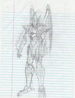 The Pheonix- Bio.Organic.Mecha-Sketch by Elemtos