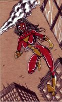 Spider-Woman by hdub7
