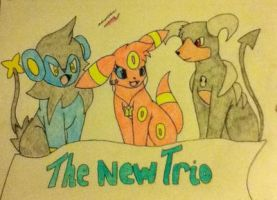 The New Trio by TheNeonUmbreon