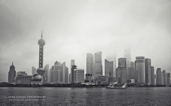 Shanghai By Day by Sarawi