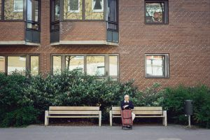 Bench People by Freggoboy