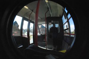 fish eye's lens stock BUS 2 by Theshelfs
