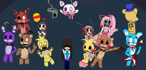 Five Nights At Freddy's by angelthewingedcat